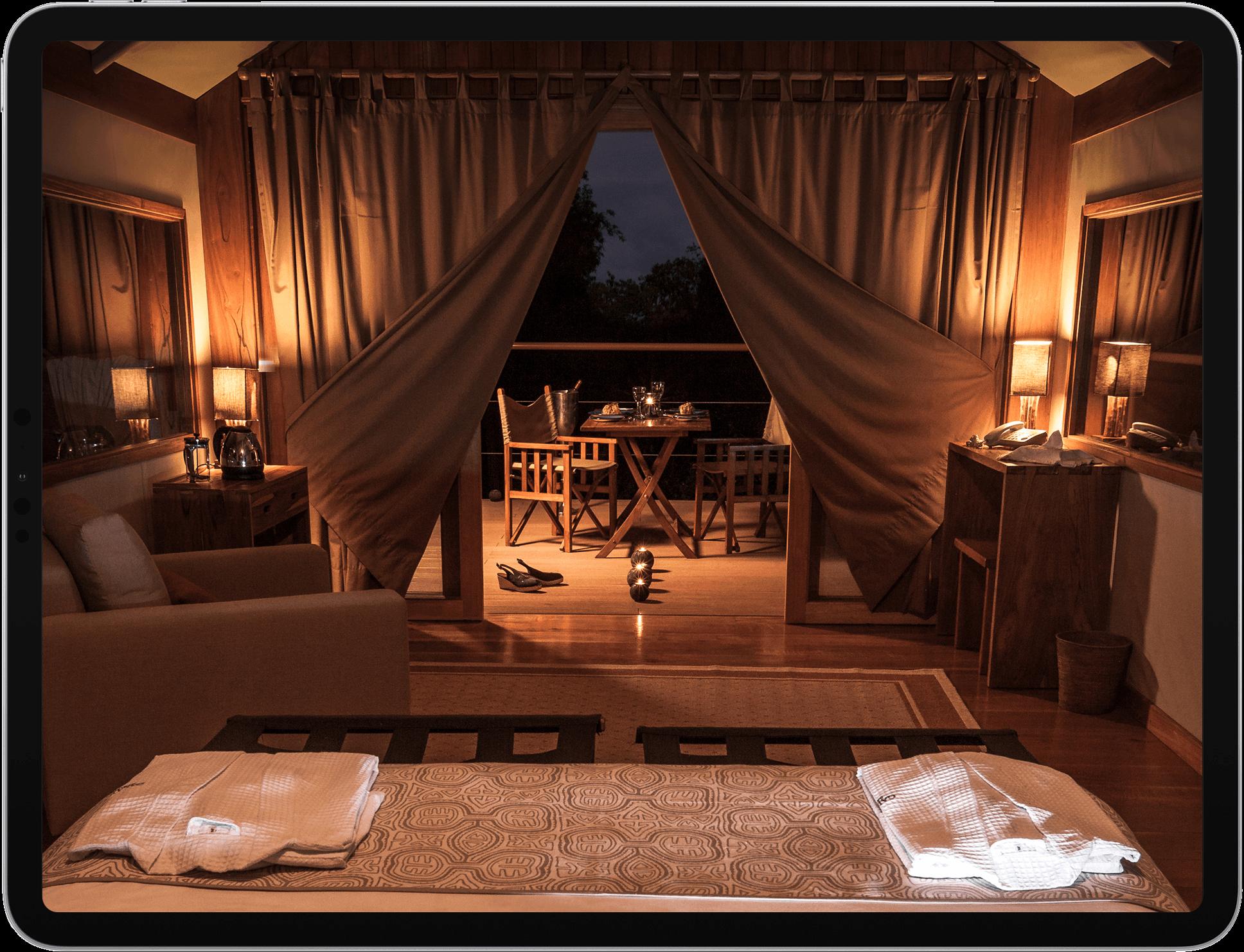 Proyecto web para Galapagos Safari Camp elaborado por Design Republik